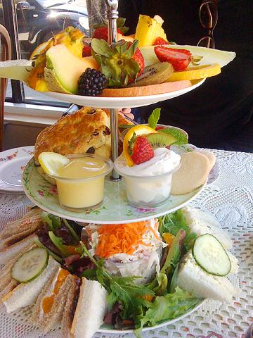 Afternoon Tea at Lovejoy's Tea Room
