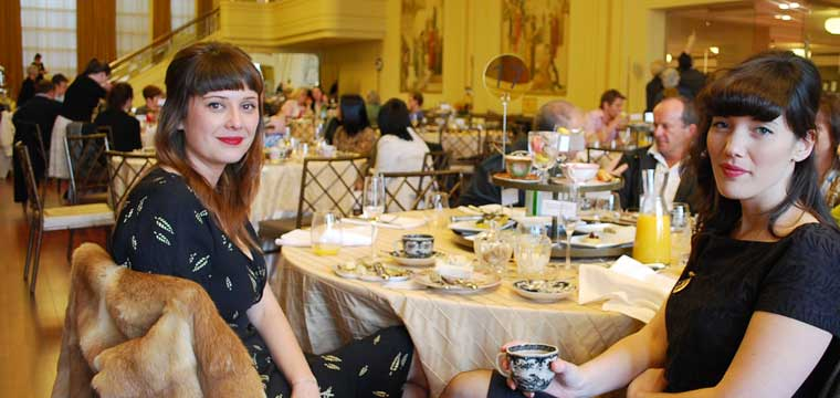 Afternoon Tea at the Myer Murall Hall