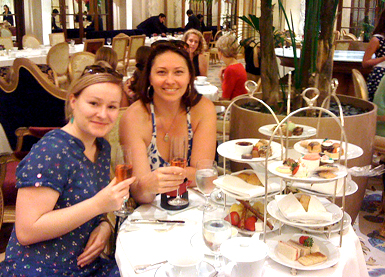 High Tea at The Plaza's Palm Court