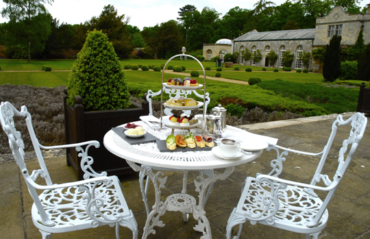 High Tea at Stapleford Park