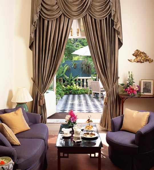 Joseph Conrad room at the Mandarin Oriental