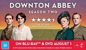 Downton Abbey Season Two DVD