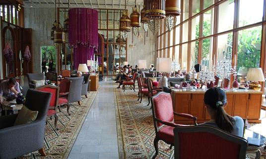 Lobby at the Mandarin Oriental Bangkok