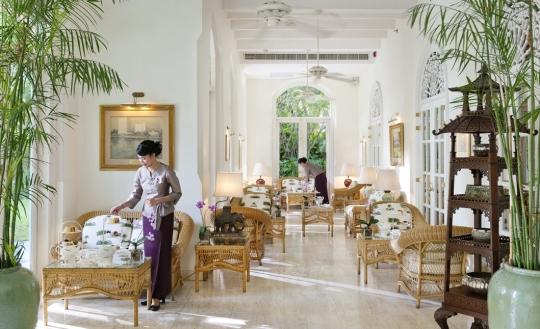 Afternoon Tea at the Mandarin Oriental Bangkok