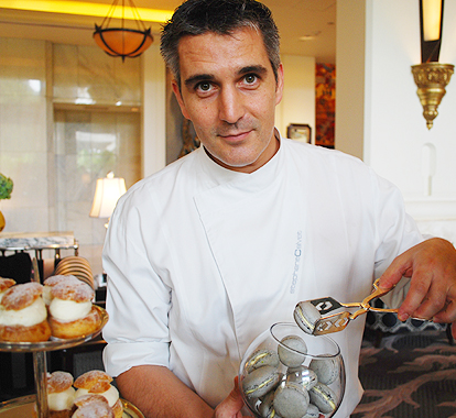 Stephane Calvert, Pastry Chef, Four Seasons Hotel Bangkok