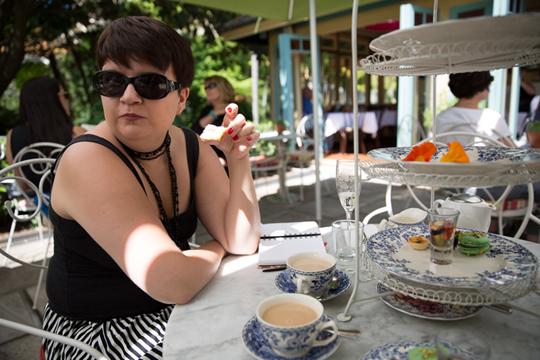 High Tea at the Vaucluse House Tearooms