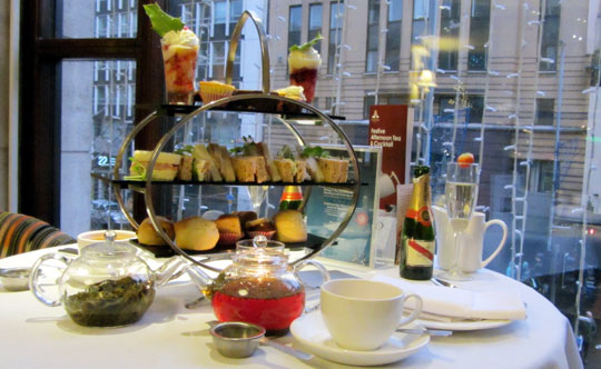 Afternoon Tea at Europa Hotel