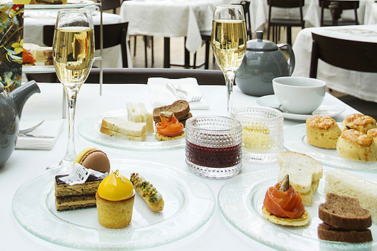 Afternoon Tea at the Royal Opera House London