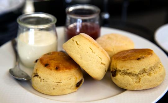 High Tea at the Shangri La Sydney