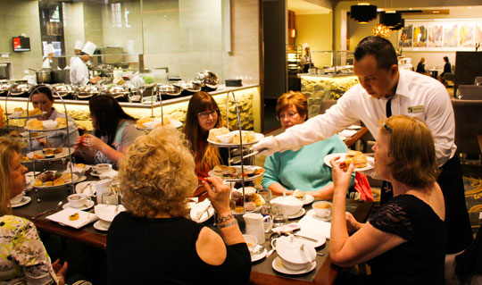 High Tea at the Duxton Hotel Perth