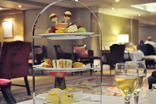 Afternoon Tea at the Lancaster London Hotel