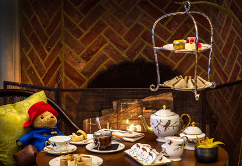 Paddington Afternoon Tea at The Rosebery, Mandarin Oriental Hyde Park London