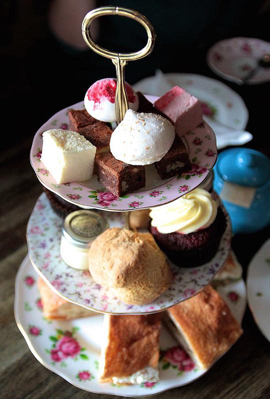 Afternoon Tea at Beas of Bloomsbury London