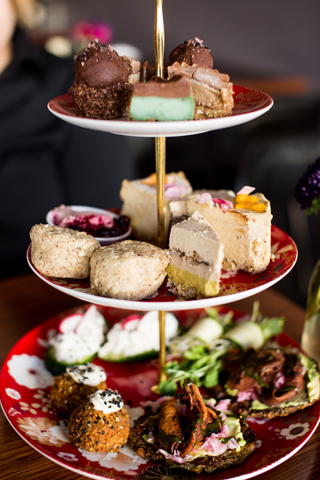 High Tea at Sadhana Kitchen Sydney
