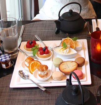 High Tea at the Sofitel Hotel- New York
