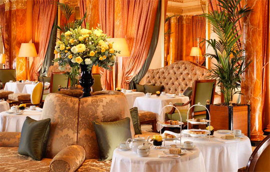 High Tea at The Dorchester Hotel London (supplied image)