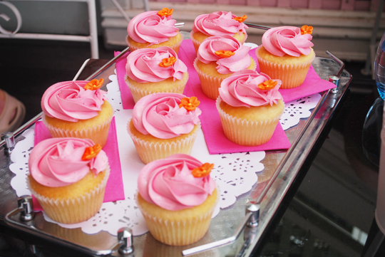 Cupcakes from Madame Brussels