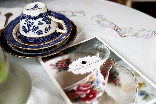 High Tea at Martha's Pantry