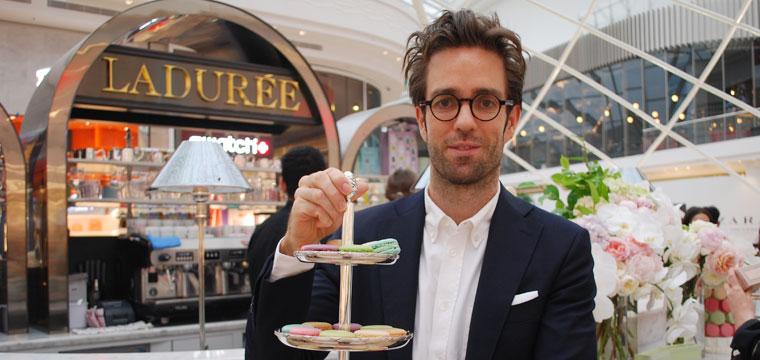 Jonathan Alphandery, Director of Ladurée Australia