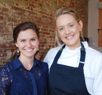 Sarah de Witt and Jessica Hillbrick