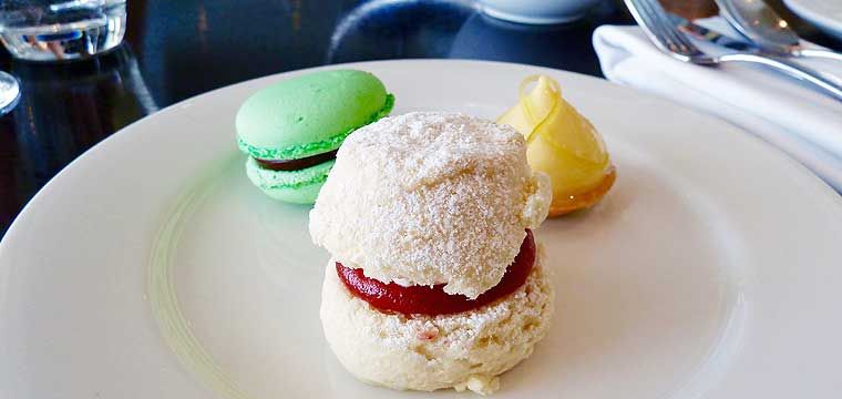 Afternoon tea at Bistro Guillaume, Crown Perth