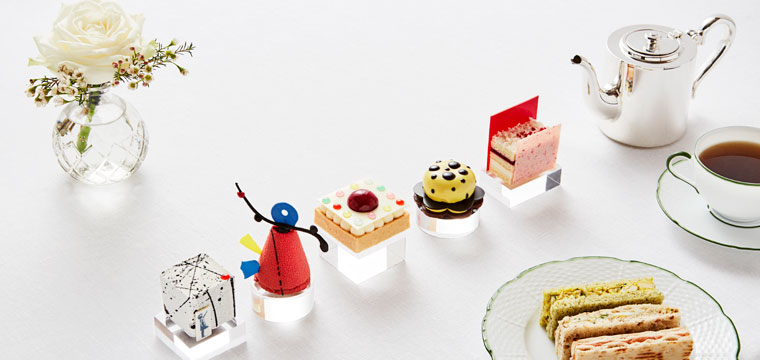 Banksy inspired High Tea at the Rosewood London