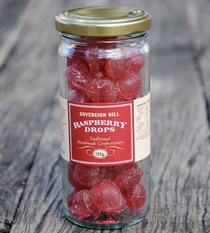 Sovereign Hill raspberry drops