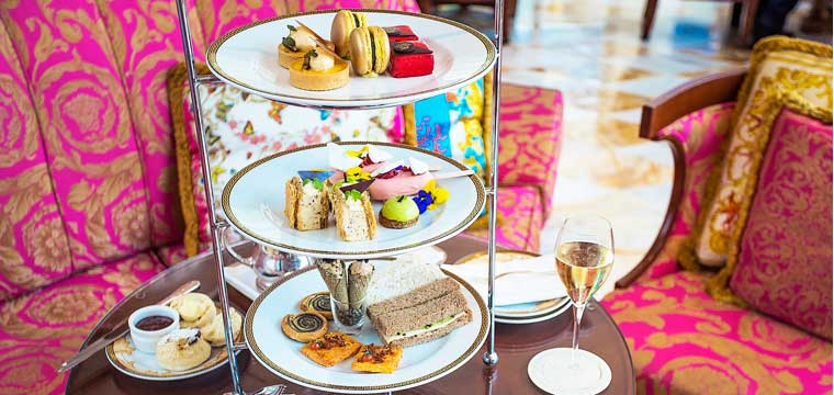 High Tea at the Plazzo Versace Gold Coast