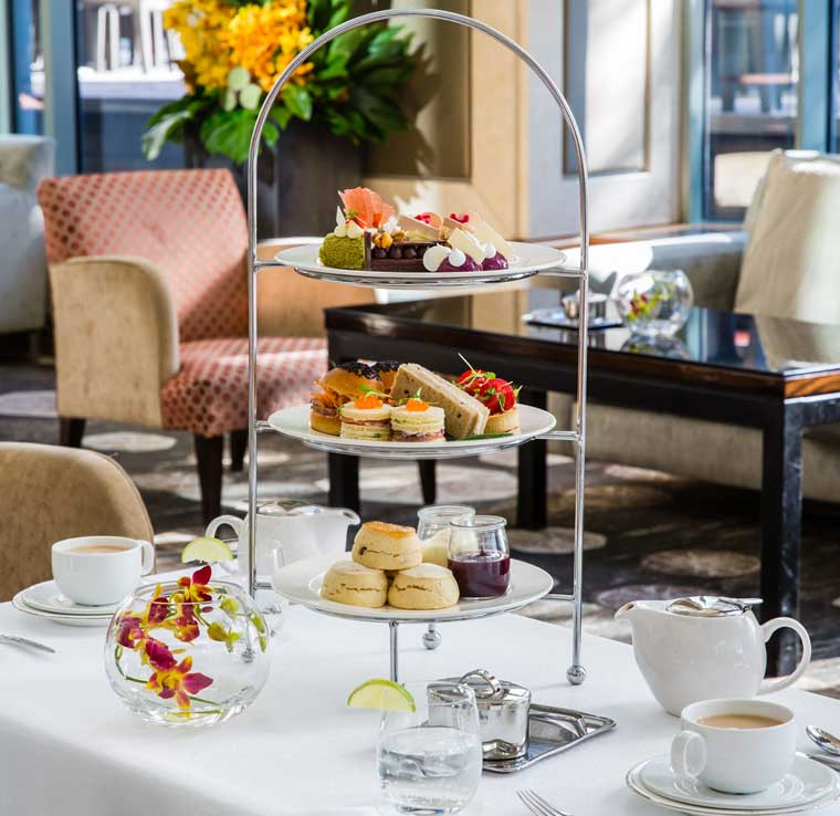High Tea at Shangri-La hotel Sydney (supplied image)