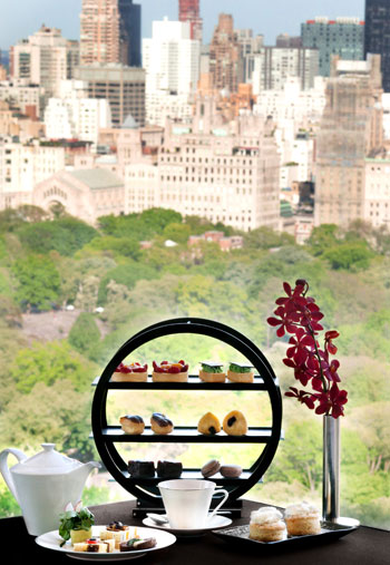 High Tea at the Mandarin Oriental New York, photo: GurwinPhotography