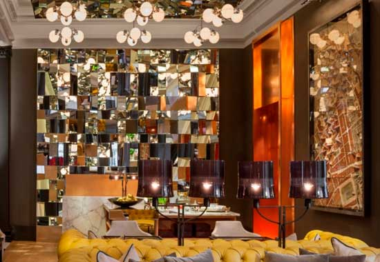 Afternoon Tea in The Mirror Room at Rosewood London - High
