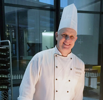 Clinton Jackson, Executive Chef, InterContinental Melbourne The Rialto