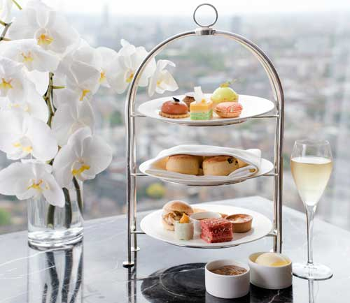 Afternoon Tea at the Ting Restaurant, Shangri-La London