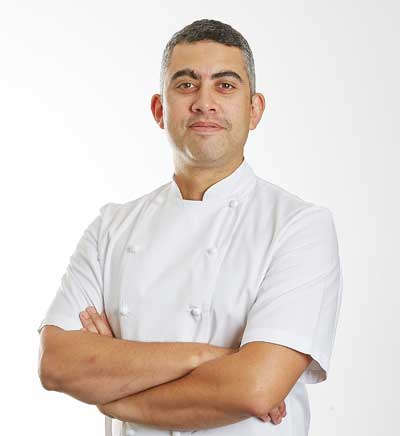 Head Chef  Elton Inglis