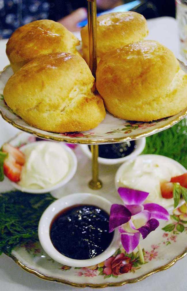 Melbourne Tea Rooms Menu