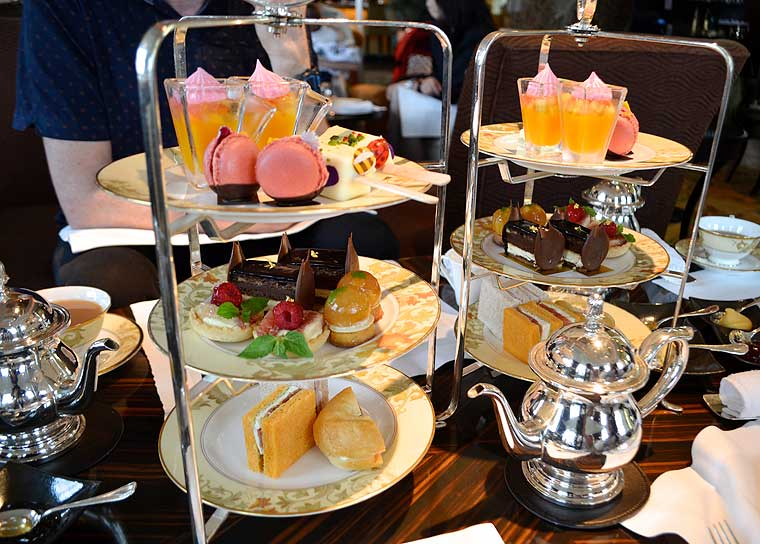 Afternoon Tea at the Shangri-La Tokyo