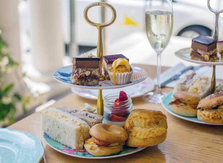 Afternoon Tea a Dunbar House Sydney