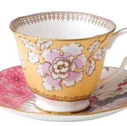 Tea Cup and Saucer from Wedgwood
