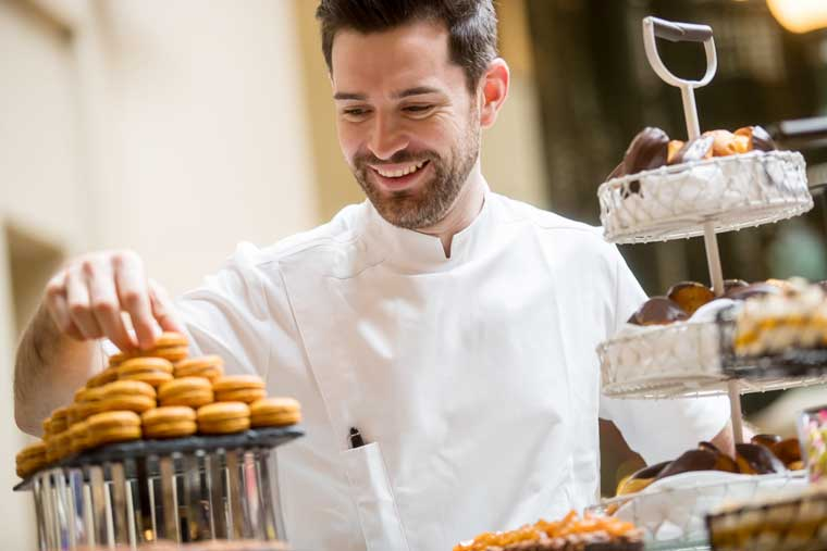 Simon Veauvy, Head Pastry Chef, InterContinental Sydney
