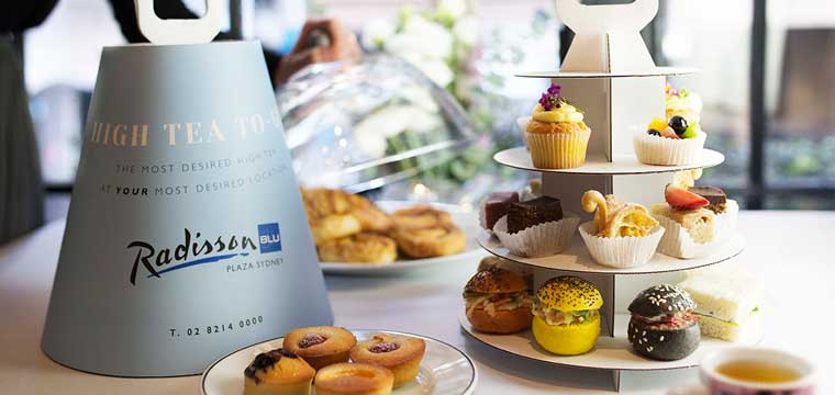Takeaway High Tea Radisson Blu Plaza Sydney