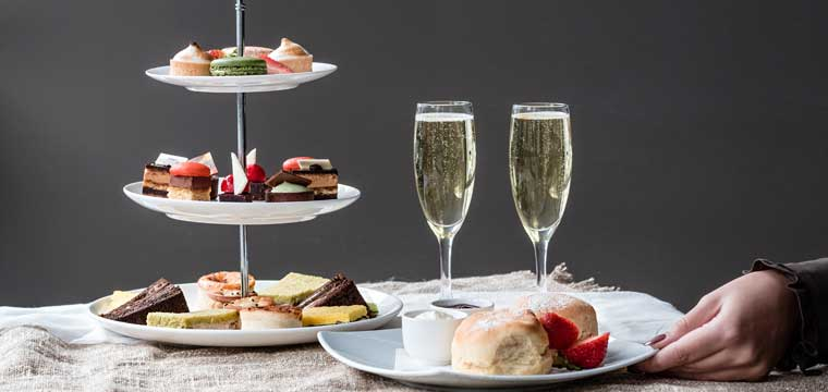 High Tea at Marriott Melbourne