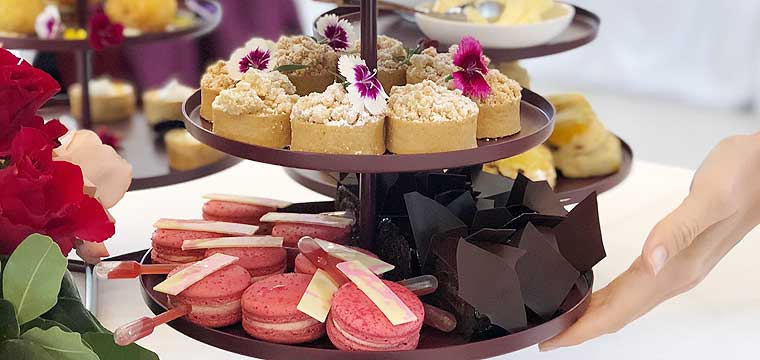 Mother's Day High Tea by pastry chef Anna Polyviou.