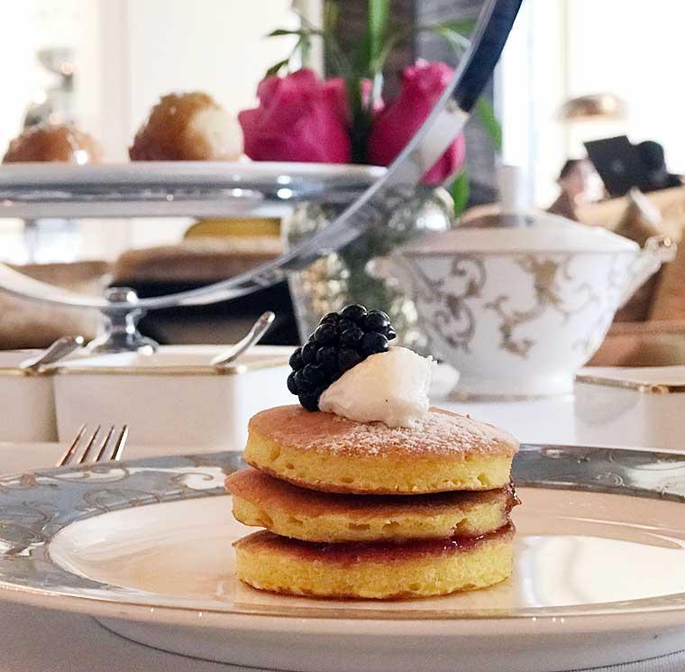 Saffron Mini Pancakes