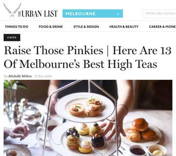 The Urban List Melbourne
