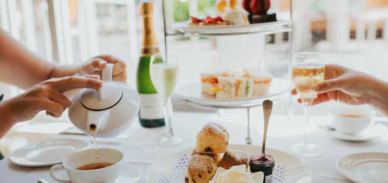 High Tea at the Brisbane Marriott Hotel