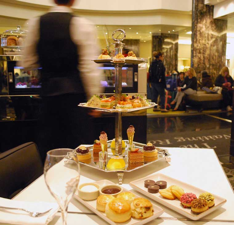 Afternoon Tea at The Waiting Room at Crown Melbourne