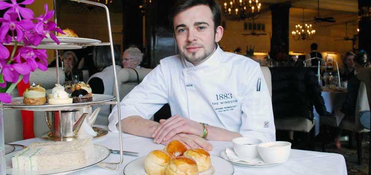 Head Pastry Chef Jérémie Parmentier