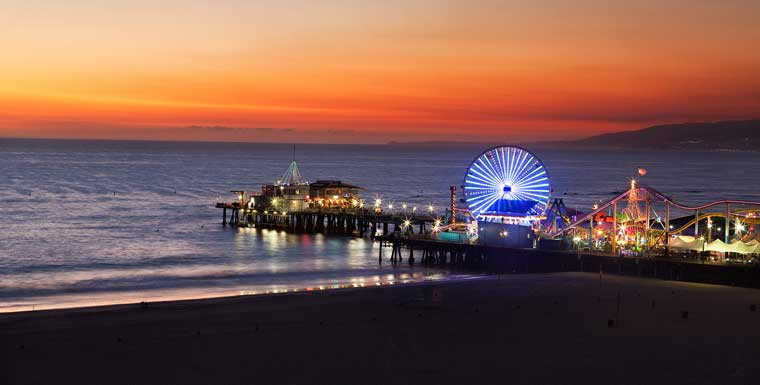 Santa Monica Pier (supplied photo)