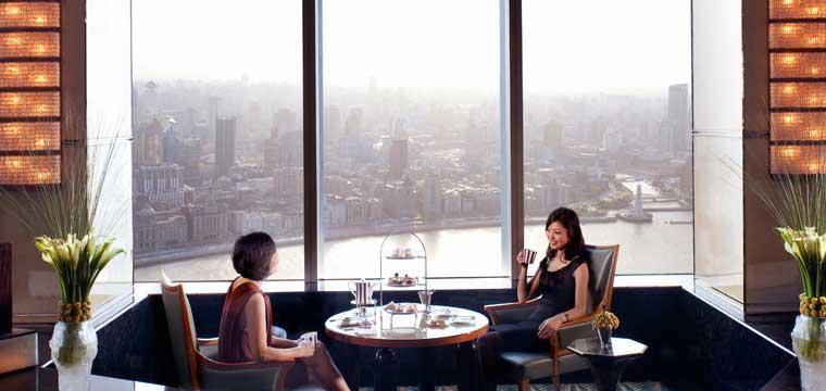 Afternoon Tea at The Ritz-Carlton Shanghai, Pudong