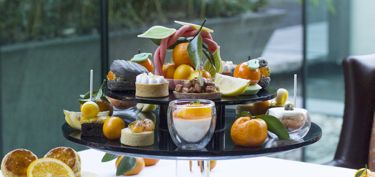 Citrus Afternoon Tea at the Four Seasons Hotel Pudong